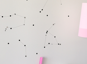 Diy: star wall constellation