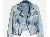 Denim biker jacket... sales arrivals
