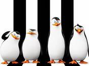 "Primer póster oficial ""los pingüinos madagascar"""