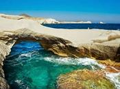 isla Milos, paseo playas