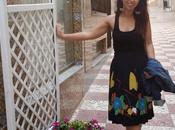Outfit Vintage Black Skirt