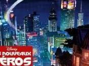 Baymax vuelo otro póster internacional Héroes
