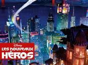 nuevo pósters para francia heroes (big hero