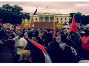 todo está perdido: manifestación EE.UU. exigiendo genocidio Gaza