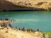 misterioso lago desierto Túnez vuelve color turquesa verde