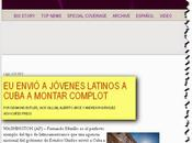 Agencia revela EE.UU. envió jóvenes latinos Cuba para montar complot foto documentos]
