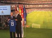 Real Madrid presentó Keylor Navas Bernabéu