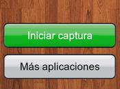 captura pantalla para android