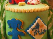 Paddle tennis cake (Para amantes pádel)