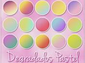Degradados Tonos Pastel Gratis para Photoshop