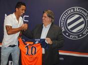 Montpellier confirmó llegada Lucas Barrios