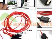 Conexión móvil directamente cable