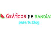 Gráficos Sandías para Blog