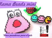 Hama beads mini pasadores para pelo imán nevera