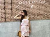summer vibe pink dress