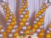 Decoración para fiestas globos