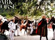 Editorial: Dark Horse Mario Testino. Vogue Setiembre 2014.