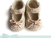 Cómo hacer unos patucos crochet tipo merceditas para Bebé