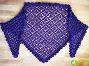 modelos chales tejidos crochet