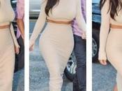 Kardashian colección ceñidos vestidos punto