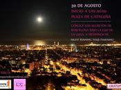 Agosto, City running tour nocturno para mujeres Barcelona