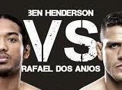 Benson Henderson Rafael Anjos Vivo, Fight Night