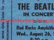 AÑOS: Agosto 1964 Rocks Amphitheatre Denver