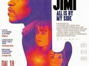 "Nuevo póster psicodélico biopic ""jimi: side"""