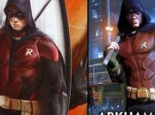 Primer Vistazo Robin Para Batman: Arkham Knight