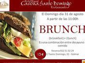este domingo agosto brunch restaurante casona santo