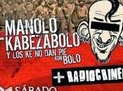 Crónica presentación disco Manolo Kabeza Bolo quedan dientes estuviste allí junto Gatillazo Radiocrimen.