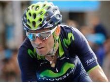 Antes alta montaña, Valverde líder Vuelta