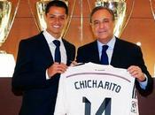 Chicharito, cedido Real Madrid