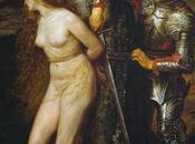 contradicción estética imagen: caballero medieval frente héroe clásico.