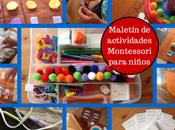 divertido maletín actividades Montessori para niños casero (DIY)