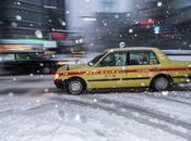 Intensa nevada Japón