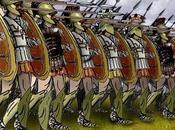 batalla Termópilas: pequeño hoplita