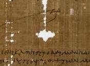 Hallan primer papiro referente Última Cena 1.500 años antigüedad