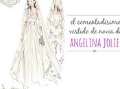 vestido novia Angelina Jolie