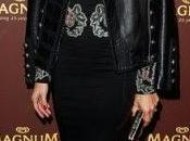 Consigue chaqueta cuero favorita Olivia Palermo