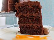 Chocolate zucchini carrot layer cake Layer chocolate, calabacín zanahoria