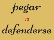 diferencia entre pegar defenderse