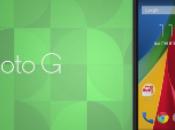 segunda generación Motorola Moto oficial