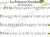 Primera Navidad partitura para Flauta Villancico popular