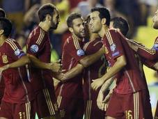 España golea Macedonia