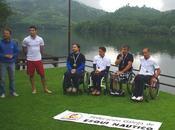 Cuatro esquiadores discapacidad física participaron Open Galego Deputacion Ourense esquí náutico