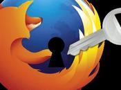 Como crear contraseña maestra Firefox