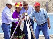 Gore lima inaugura construcción nueva infraestructura riego cajatambo…