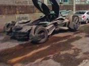 """Impresionante vistazo nuevo batmovil desde """"batman superman: dawn justice"""""""