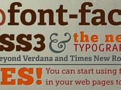 Añade cualquier tipografía web, @font-face